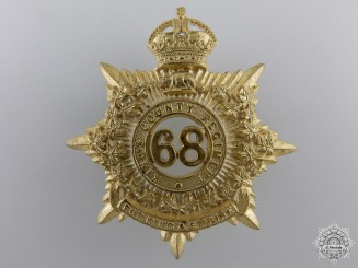 Canada. A 68th King's County Regiment Cap Badge, c.1910