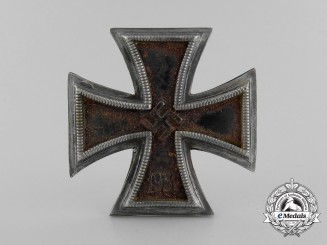 A Prinzen Size Iron Cross 1st Class 1939 by Zimmermann