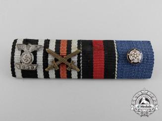 A German & Finnish Second War Ribbon Bar