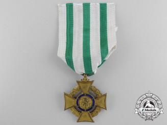 A First War Saxon Honour Cross for Volunteer Nursing During the War 1914-1917