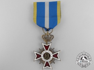 Romania, Kingdom. An Order of the Crown, Knight, Type II (1932-1946)