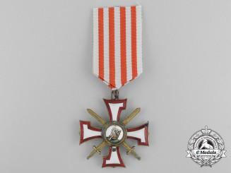 Latvia. An Order of the Bear Slayer, Knight's Cross, c.1930