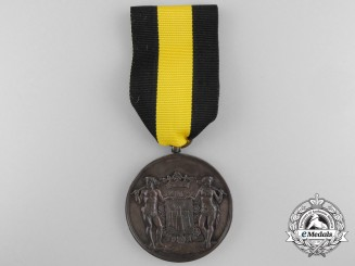 A Belgian Antwerp Poultry Association Award Medal