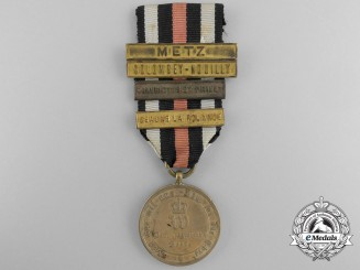 An 1870-1871 Prussian War Merit Medal with Four Clasps