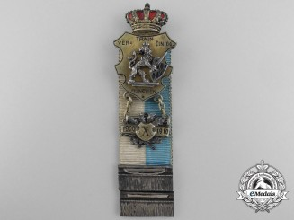 A Fine Bavaria Veteran's Ten Year Service Badge by G.G. Linder