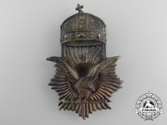 An Early 1920's Hungarian Cap Badge