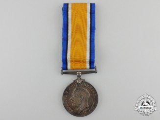 A British War Medal to the Western Ontario Regiment
