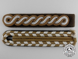 Two SA Shoulder Boards