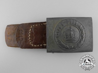 A 1917 German Imperial Belt Buckle by Overhoff