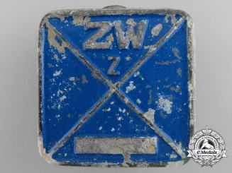 Germany. A Messerschmitt Civil Employee ID Tag