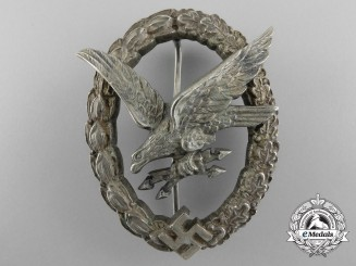 A Luftwaffe Radio Operator & Air Gunner Badge by Jmme & Sohn, Berlin