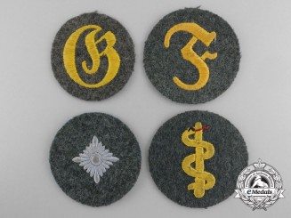 Germany, Heer. A Lot of Four Trade and Proficiency Badges