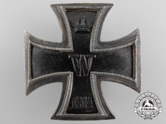 Germany, Imperial. A I Class Iron Cross 1914; Silver Screwback