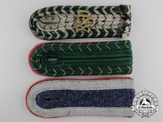 Three Second War German Shoulder Boards