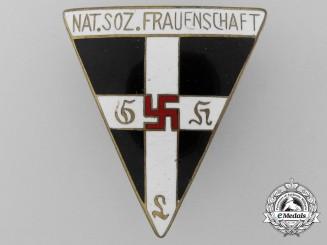 A Large N.S. Frauenschaft Badge