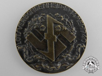 A Second War Dutch NSB Medal