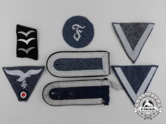 A Lot of Luftwaffe Cloth Insignia