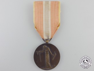 A First War French Medal for Civilian Prisoners, Deportees, and Hostages
