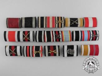 Thirteen German Ribbon Bars