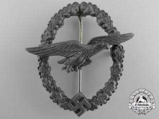 A Late War Luftwaffe Glider Pilot Badge