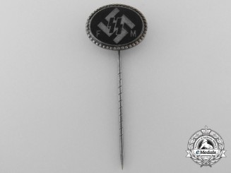 An SS (FM) Supporting Members Badge