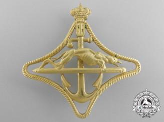 An Italian Royal Navy Speedboat War Navigation Badge; 1st Class