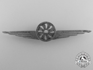 A Second War Royal Italian Air Force Photographer Qualification Badge
