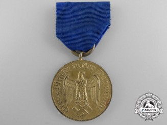 A German Army Long Service Decoration; 12 Years