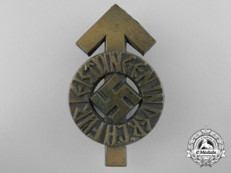 A German HJ Proficiency Badge by Gustav Brehmer