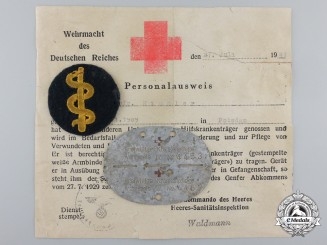 A Second War German Red Cross Grouping