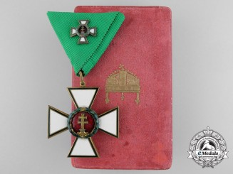 Hungary. An Order of Merit; Knight's Cross (4th Class)