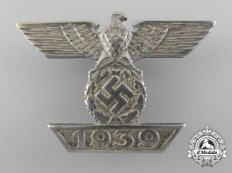 A Clasp to Iron Cross First Class 1939 by B.H. Mayer