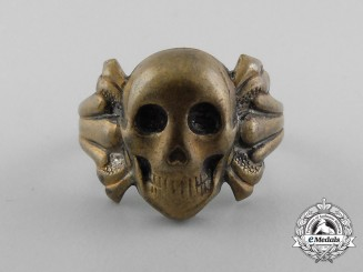 A Second War Period Skull Ring