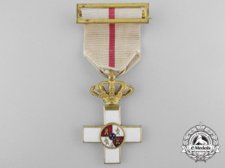 An 1890's Spanish Order of Military Merit; 1st Class Cross