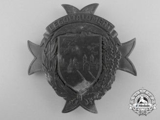 Hungary. A Rare Anti-Aircraft Badge, c.1940