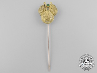 A Republic of China Commemorative Stickpin in Gold c.1930