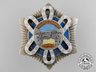 A Mongolian Order of the Polar Star by Monetny Dvor