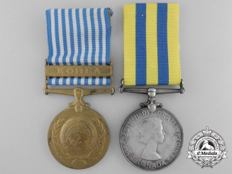 A Canadian Korean War Medal Pair to Drysdale