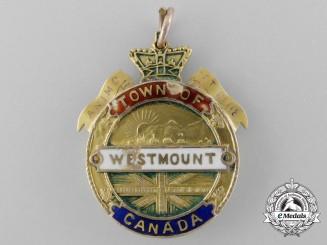 A Rare Gold Westmount Boer War Tribute Medal 1900-02