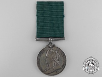 A Colonial Auxiliary Forces Long Service Medal; 31st Regiment