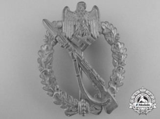A Silver Grade Infantry Badge by Steinhauer & Lück