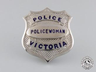 "A Policewoman ""Victoria"" Badge"