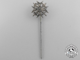 A Miniature Stickpin Spanish Cross in Silver