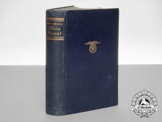 A 1937 Signed Presentation Mein Kampf
