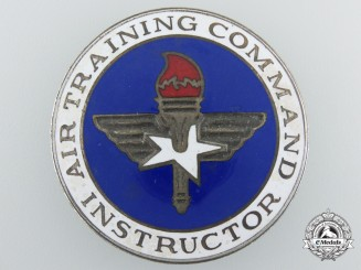 A Second War Period American Air Training Command Instructor