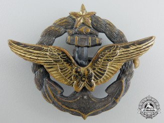 France, Republic. A Naval Pilot Badge