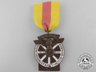 A 1935 NSKK Motor Brigade Award