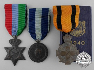 Three Greek Medals and Decorations