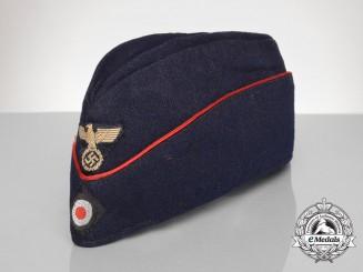 A German Reich Railway (Deutsche Reichsbahn) Employee's Side Cap