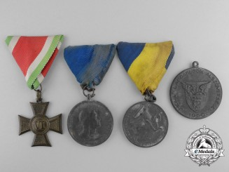 Four Awards Hungarian Medals and Awards